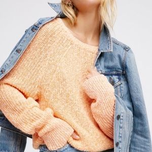 Free People Electric City Pullover Sweater M